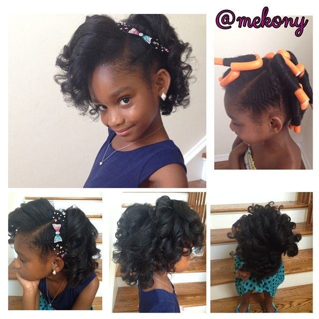coiffure pour cheveux crépus pour enfants Recherche