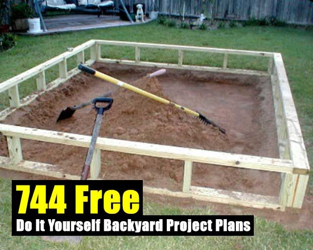 800 free do it yourself backyard project plans backyard projects 744 free do it yourself backyard project plans diy prepping how to solutioingenieria Images