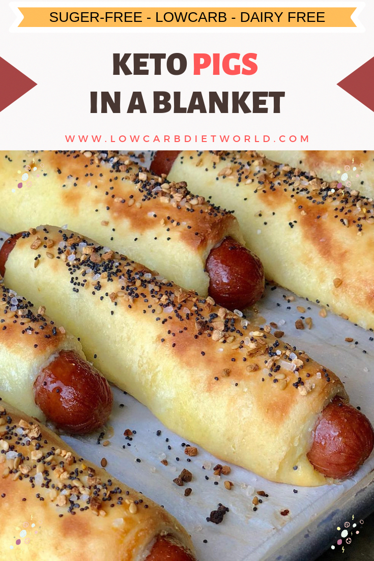 Drooling Keto Pigs In A Blanket - LowCarbDietWorld