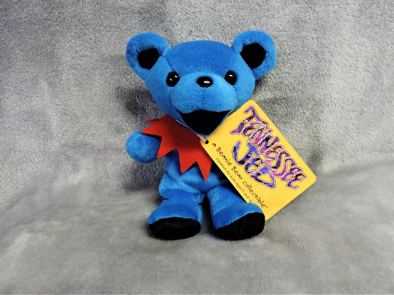 GRATEFUL DEAD BEAN bag bear BERTHA 7 inch tall bear new with new tags Series 1