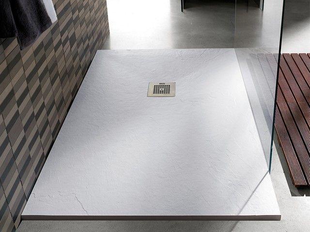 Piatto doccia new pizarra 70x90 bianco piatti doccia - Piatto doccia 70x85 ...