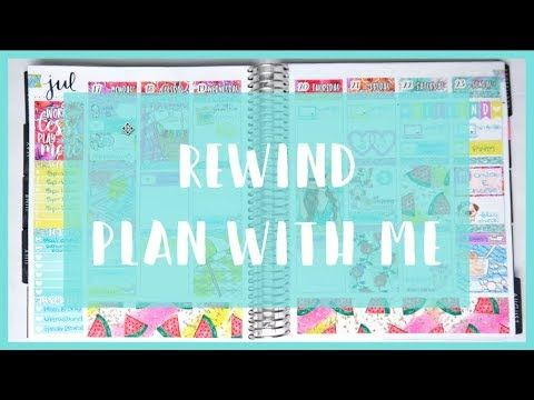 Rewind Plan With Me! Work Less printable BeaYOUtiful Planning