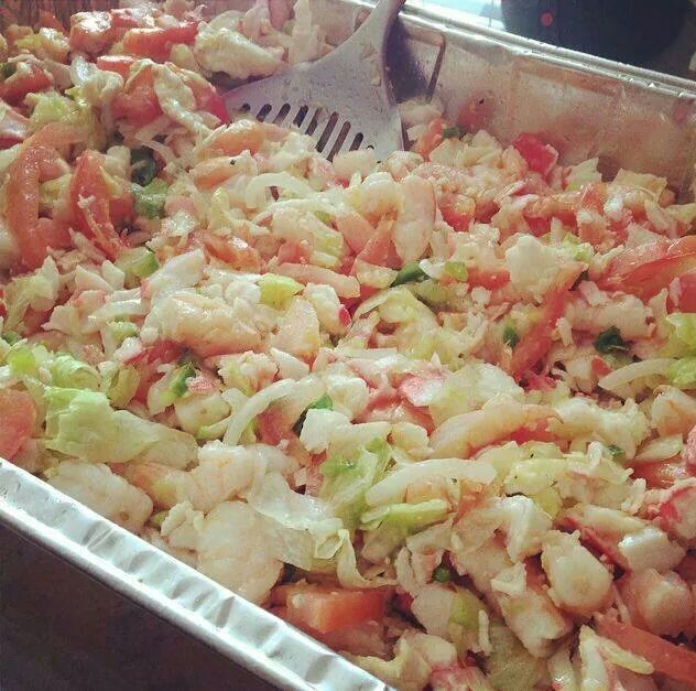 Another seafood salad made bu Vanessa