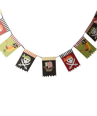 Take a look at this Meri Meri Pirate Bunting by Birthday Baking Collection on #zulily today!