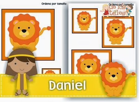 Daniel ordena por tamaño