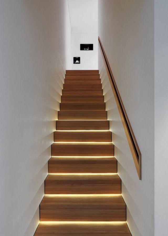 eclairage marche escalier interieur Un éclairage à LED pour les escaliers - Marie Claire Maison