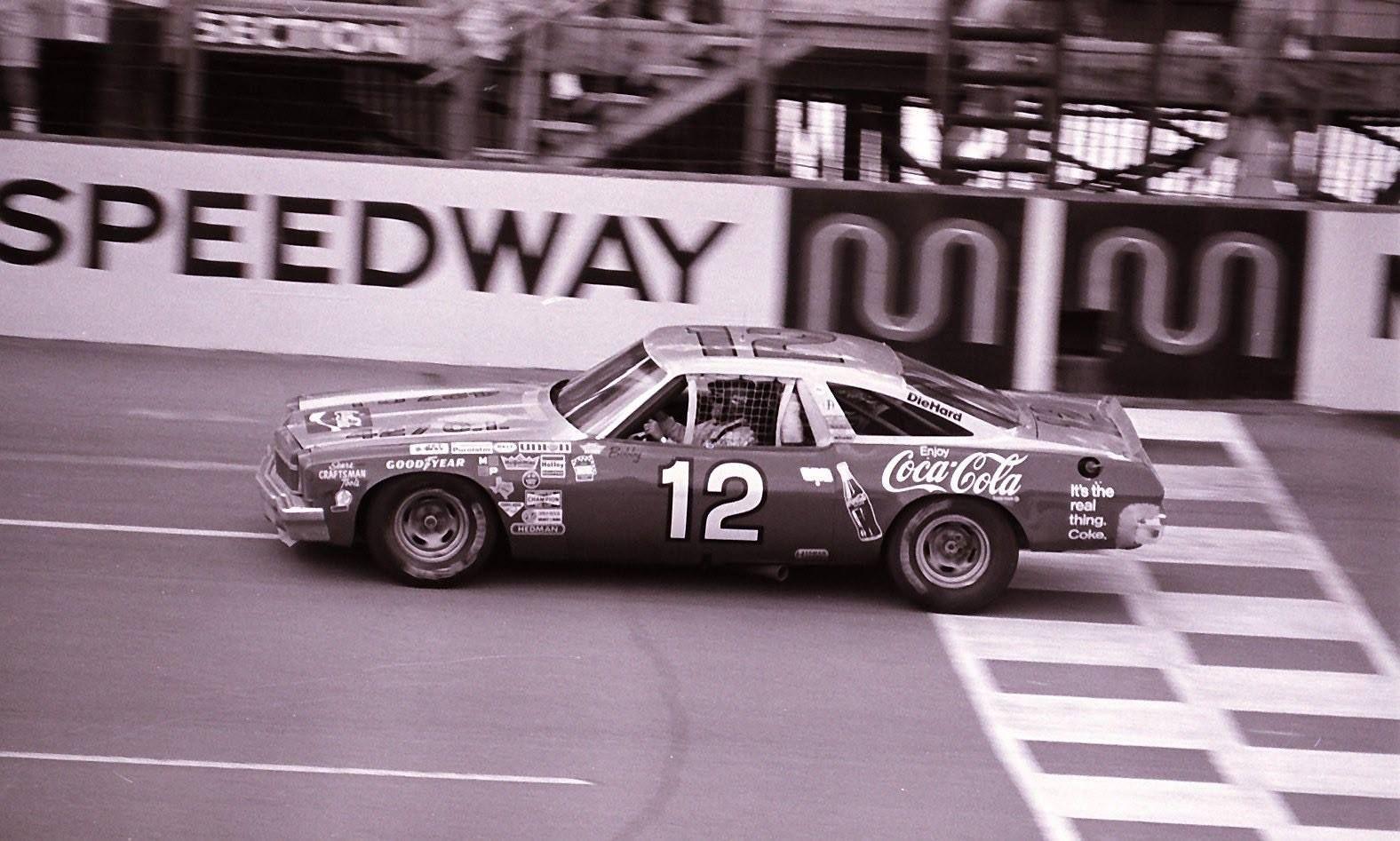 Bobby Allison 1973 Chevy Malibu Michigan Speedway Chevy