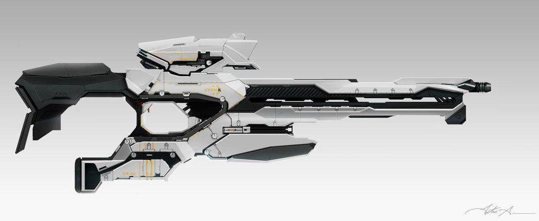 [Beginner / Intermediate] Sci Fi Gun Concept Design for ...