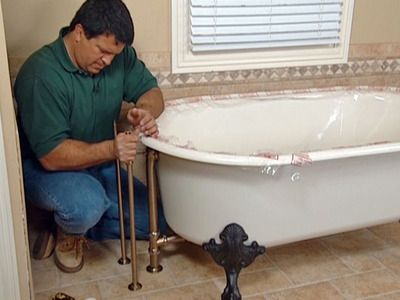 How To Install Plumbing For A Claw Foot Tub Clawfoot Tub