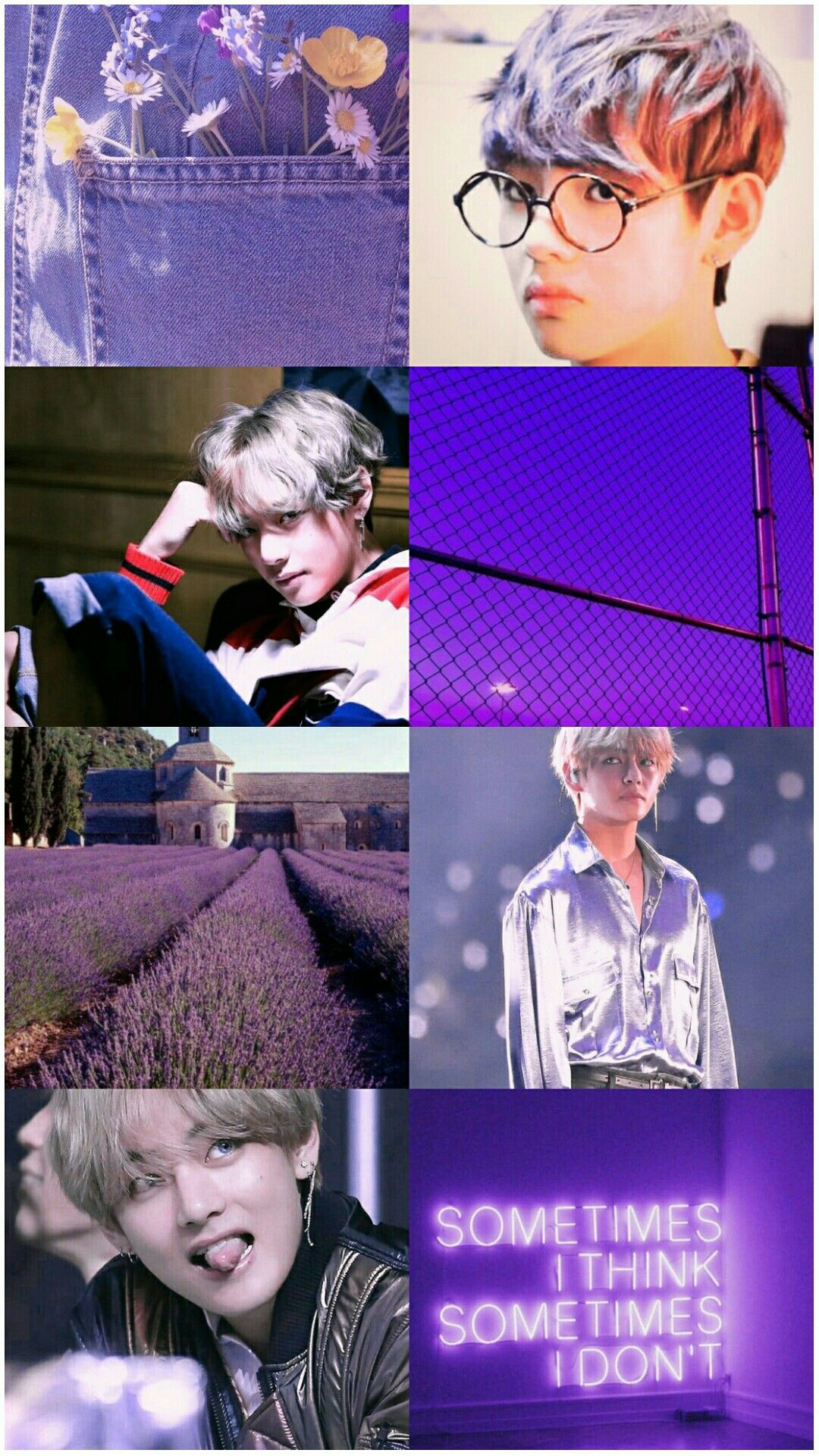 Bts V Kim Taehyung Purple Aesthetic Wallpaper Purple Aesthetic Bts V Aesthetic Wallpapers