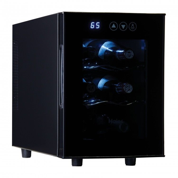 Wine Cooler Refrigerator 6 Bottle Cabinet Freestanding