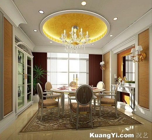 Luxury Ceiling Design With American Style House Ceiling Design