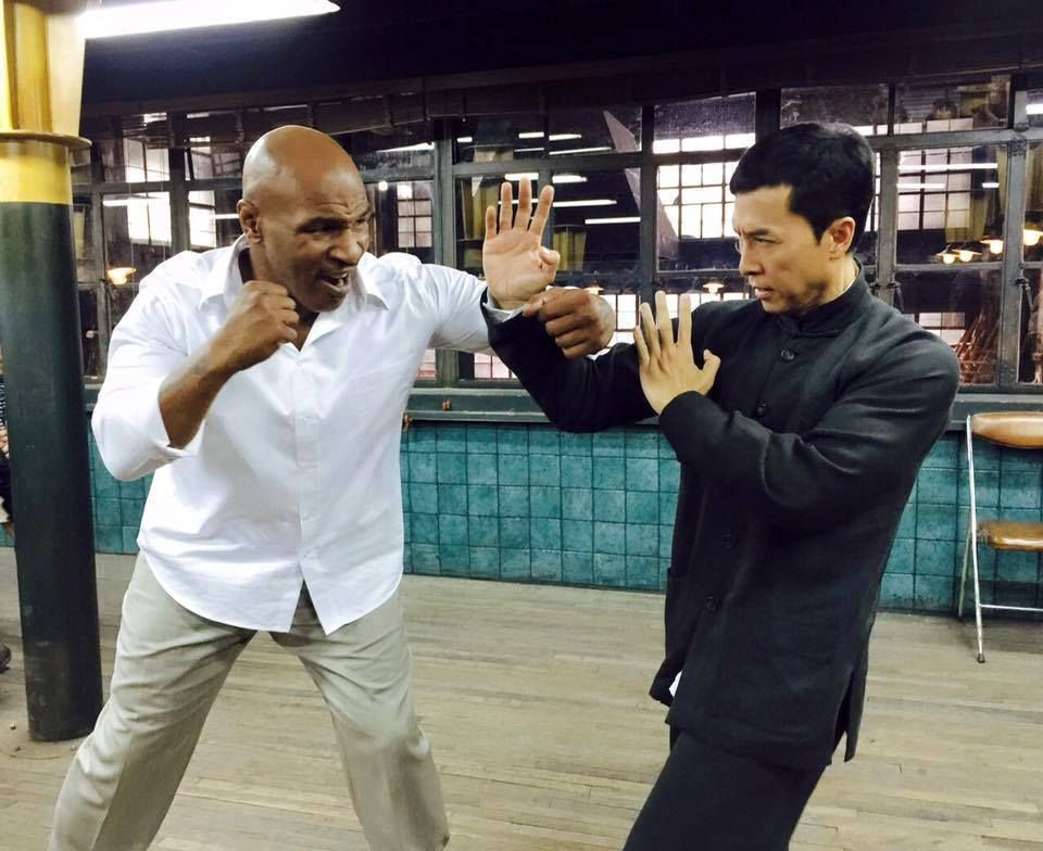 Ip Man 3 Featuring A Young Bruce Lee And Mike Tyson Donnie Yen Mike Tyson Ip Man