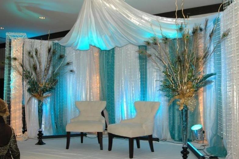Exquisite Affairs   Wedding U0026 Event Design By Amal Kilani | Edmonton, AB ·  Peacock DecorTurquoise ...