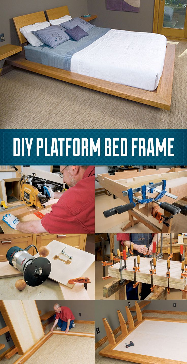 How to Build a Custom Platform Bed Frame With Cantilever