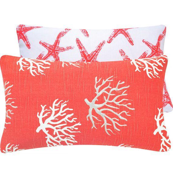 He encontrado este interesante anuncio de Etsy en https://www.etsy.com/es/listing/159074984/star-fish-coral-throw-pillow-cover-12x20