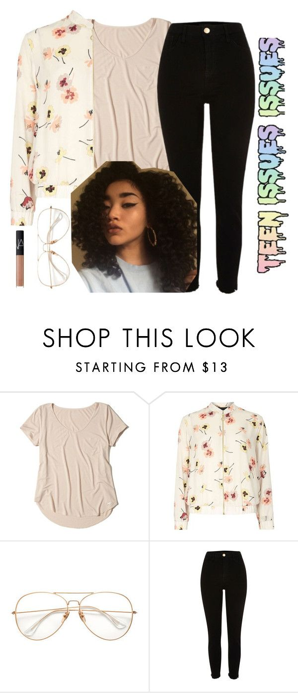"""""""Teen Issues"""" by beaumarie ❤ liked on Polyvore featuring Hollister Co., Dorothy Perkins, River Island and NARS Cosmetics"""