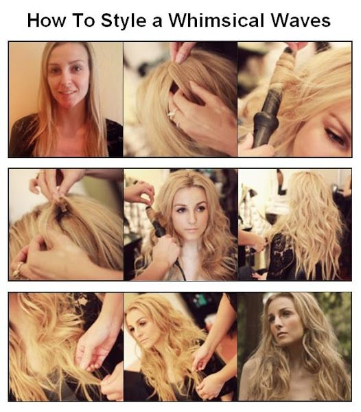 How To Make a Whimsical Waves   hairstyles tutorial