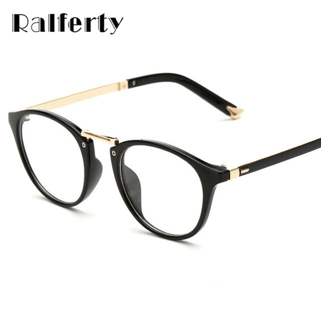 d23b1358657 Fair price Ralferty Fashion Designer Eyeglasses Frames With Clear Lens