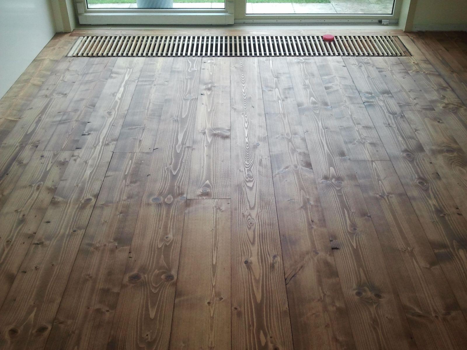 grenen plankenvloer gekleurd onderhoud van parket pinterest