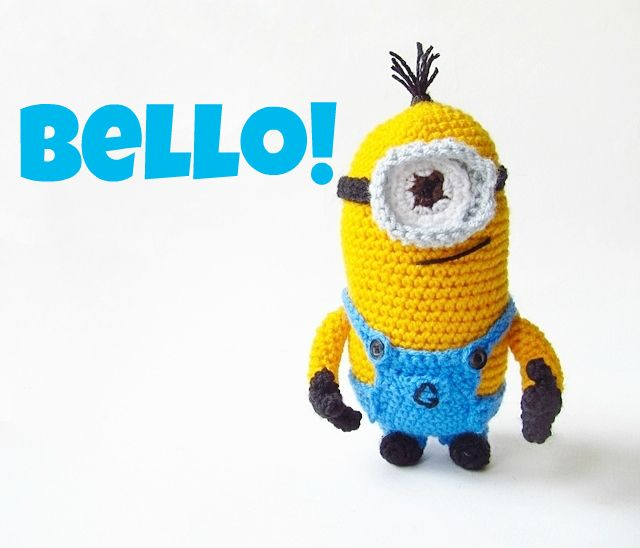 Amigurumi Despicable Me Minion - FREE Crochet Pattern / Tutorial ...