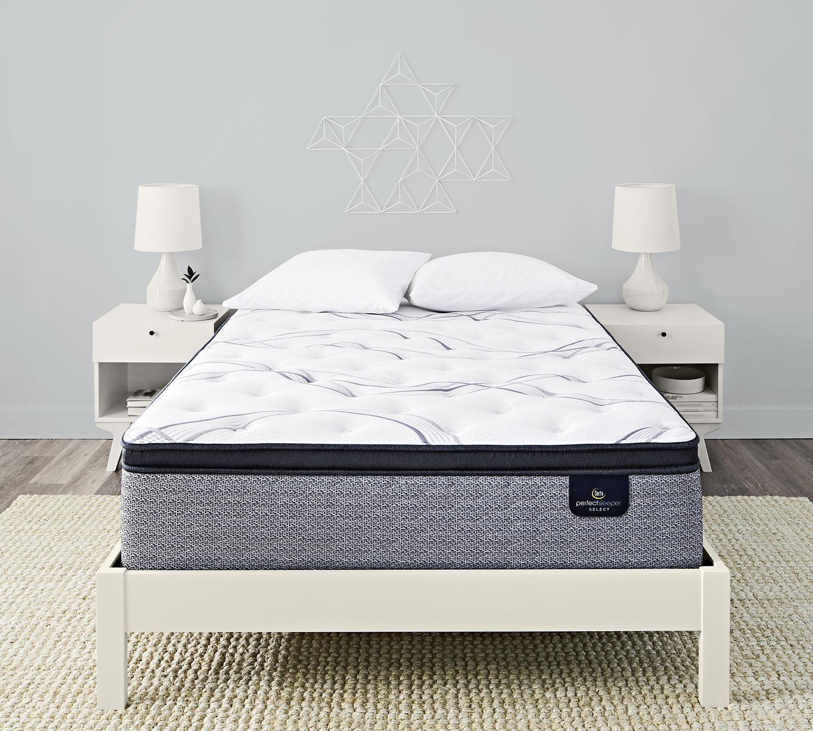 Serta Perfect Sleeper Elite Trelleburg II 14.25 Plush Pillow Top Mattress
