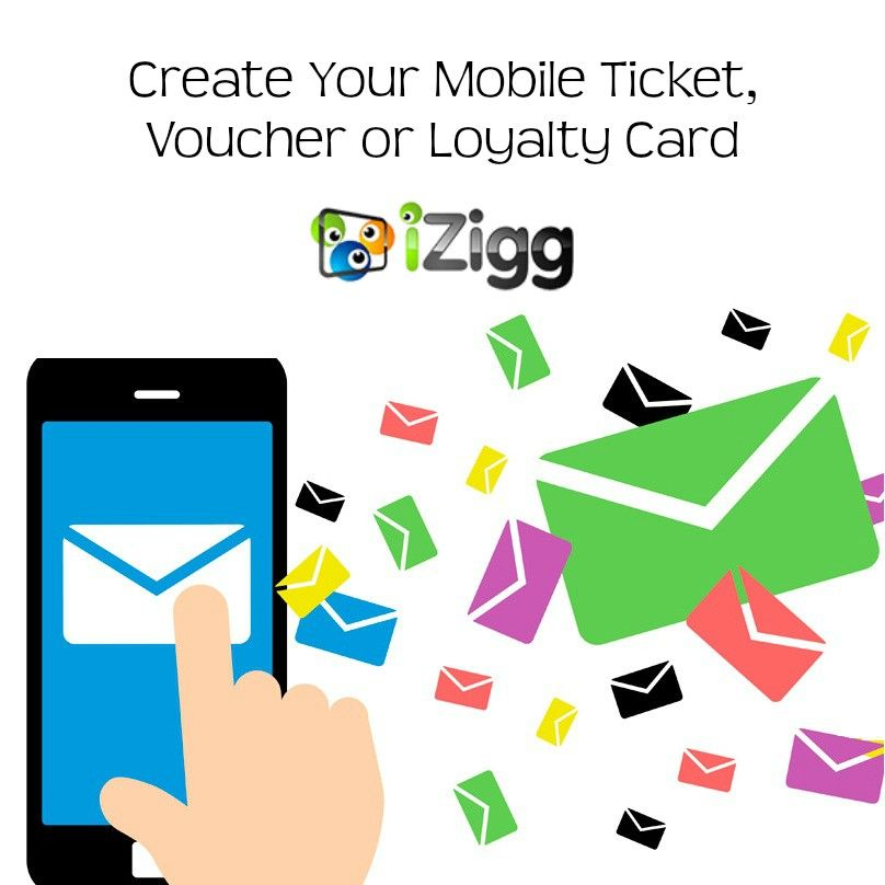 Create \ send mobile tickets, discount voucher, surveys \ forms - create a voucher