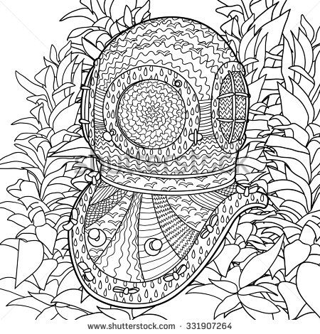 Fractals Coloring Pages - Coloring Home | 470x450