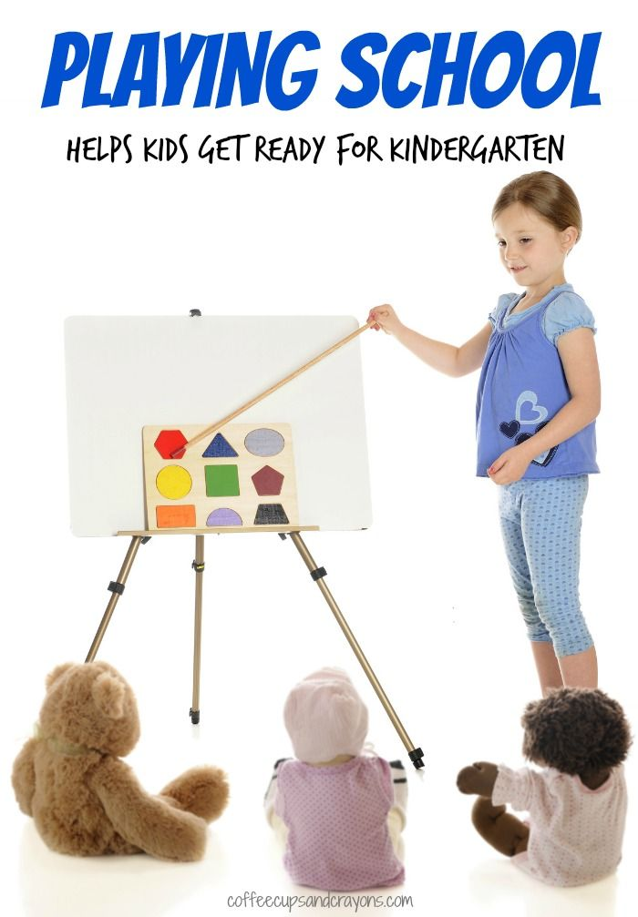 Kinder Garden: Get Ready For Kindergarten By Playing School