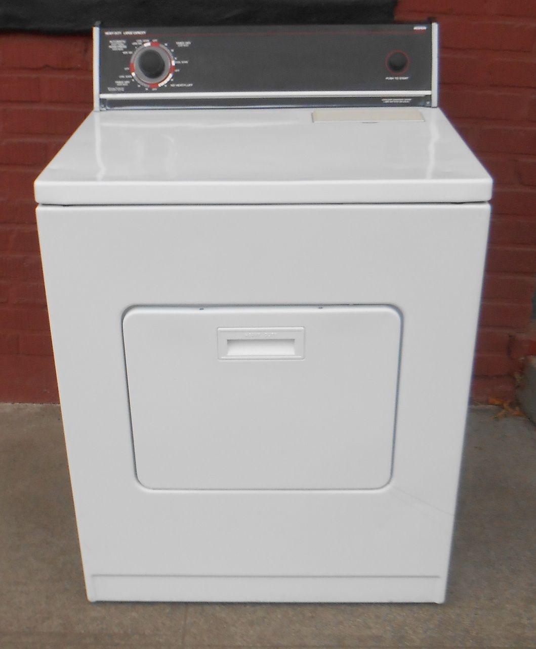 Appliance city roper electric dryer heavy duty large