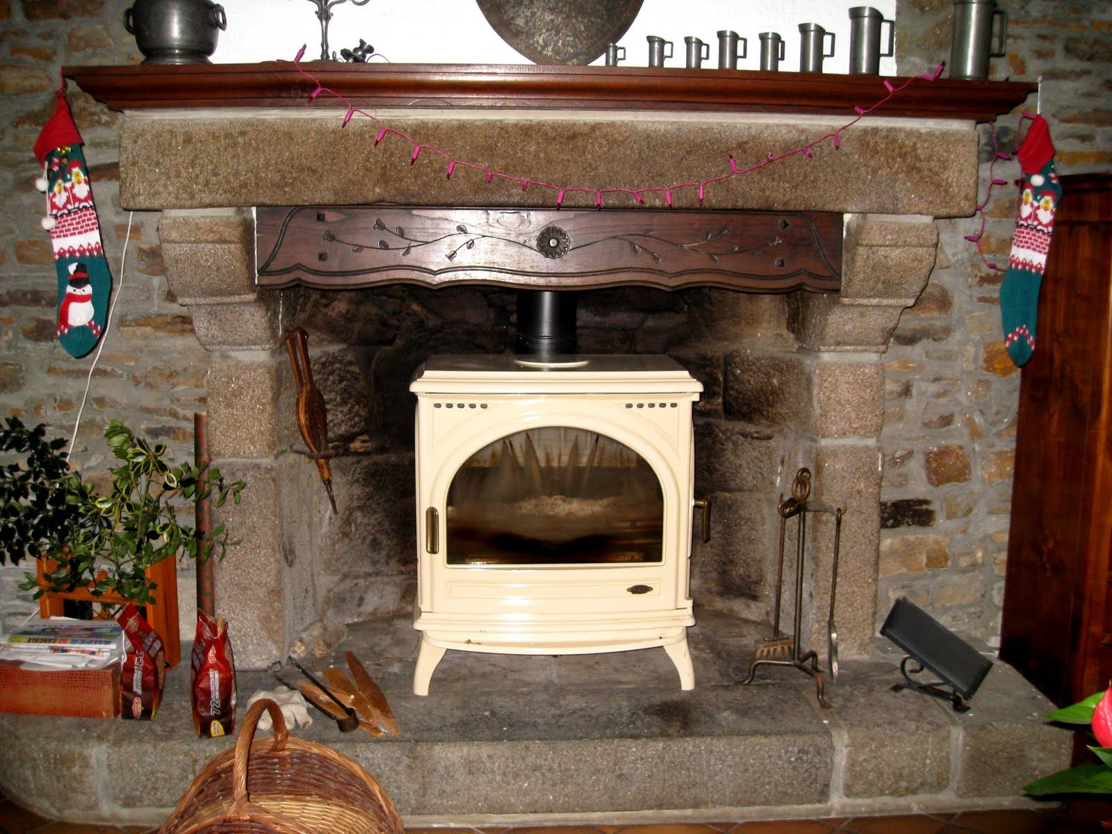 Wood Stove Inside Fireplace Home For Living Fireplace Wood Stove Home