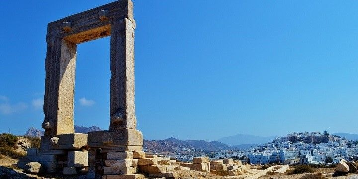 Portara, Naxos, Central Cyclades, Greece
