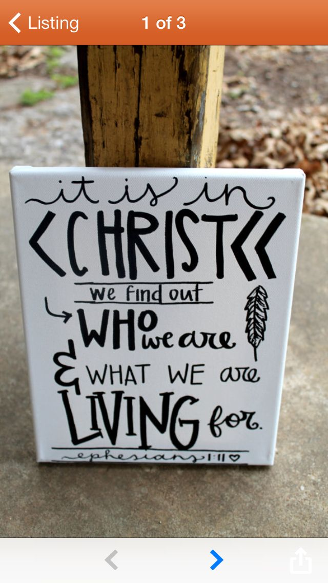 Cute Canvas Painting QuotesQuote PaintingsScripture
