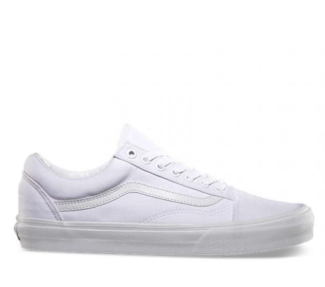 huge selection of 7bfd3 12b8a Shop Vans Old Skool True White Online   Platypus Shoes NZ