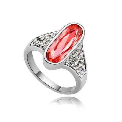 5e5caf7c7d45 Swarovski crystal ring month on quince red From Crystaljewelryuk.com ...