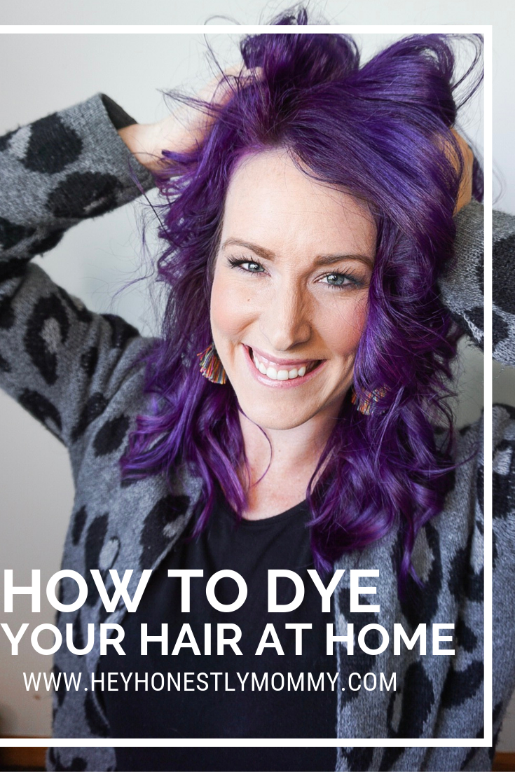 How to Dye Your Hair Using Pravana — HonestlyMommy   Colored hair ...