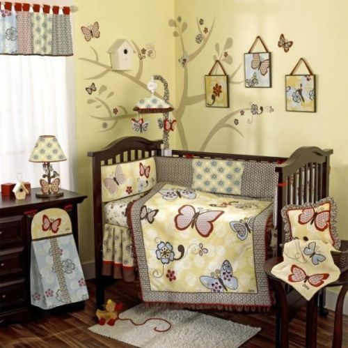 Cocalo Baby Sundae Nursery Collection 11 Piece Crib Bedding Set