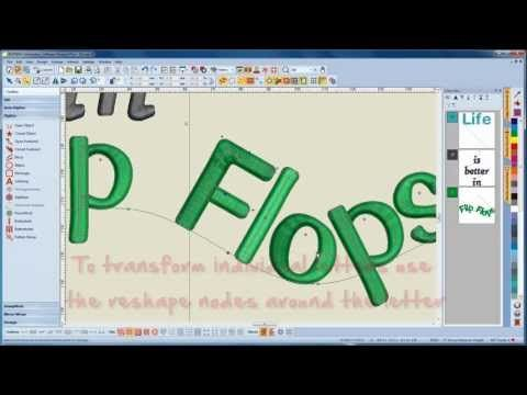Bernina Embroidery Software 7 How To Digitize Letters Youtube Bernina Embroidery Bernina Embroidery Machine Embroidery Software