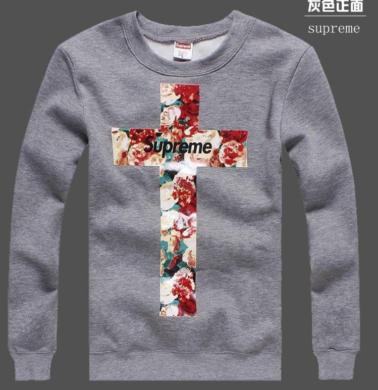 3bff3f173e1c www.givenchyshops.com supreme cross floral sweatshirts grey #supreme  #givenchy #cross #floral #sweatshirts #grey