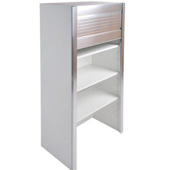 Caisson De Cuisine Haut Bf60 Delinia Blanc L 60 X H 126 X P 35 Cm Leroy Merlin Kitchen Modular Locker Storage Kitchen Renovation