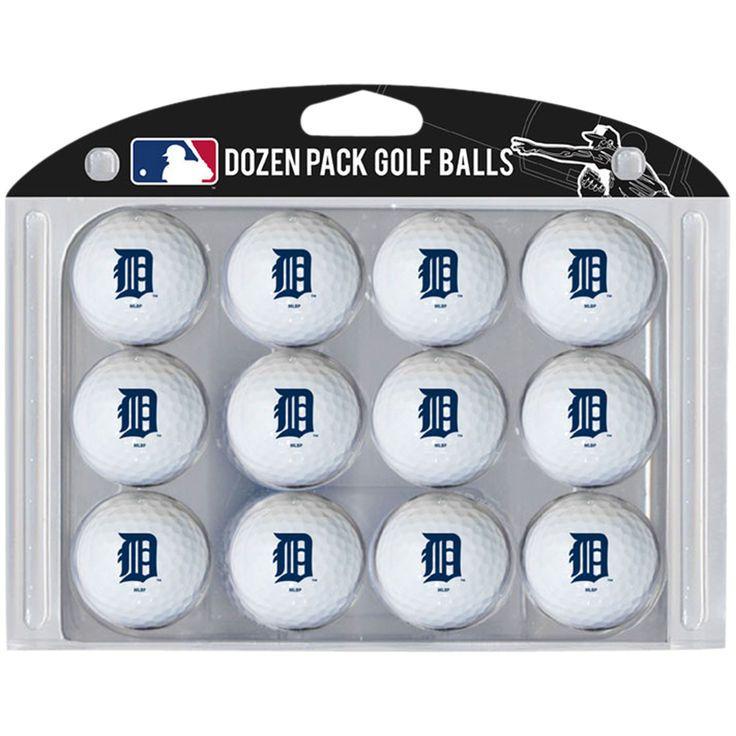 Detroit Tigers MLB Golf Balls 12 Pack by Team Golf - $39.99