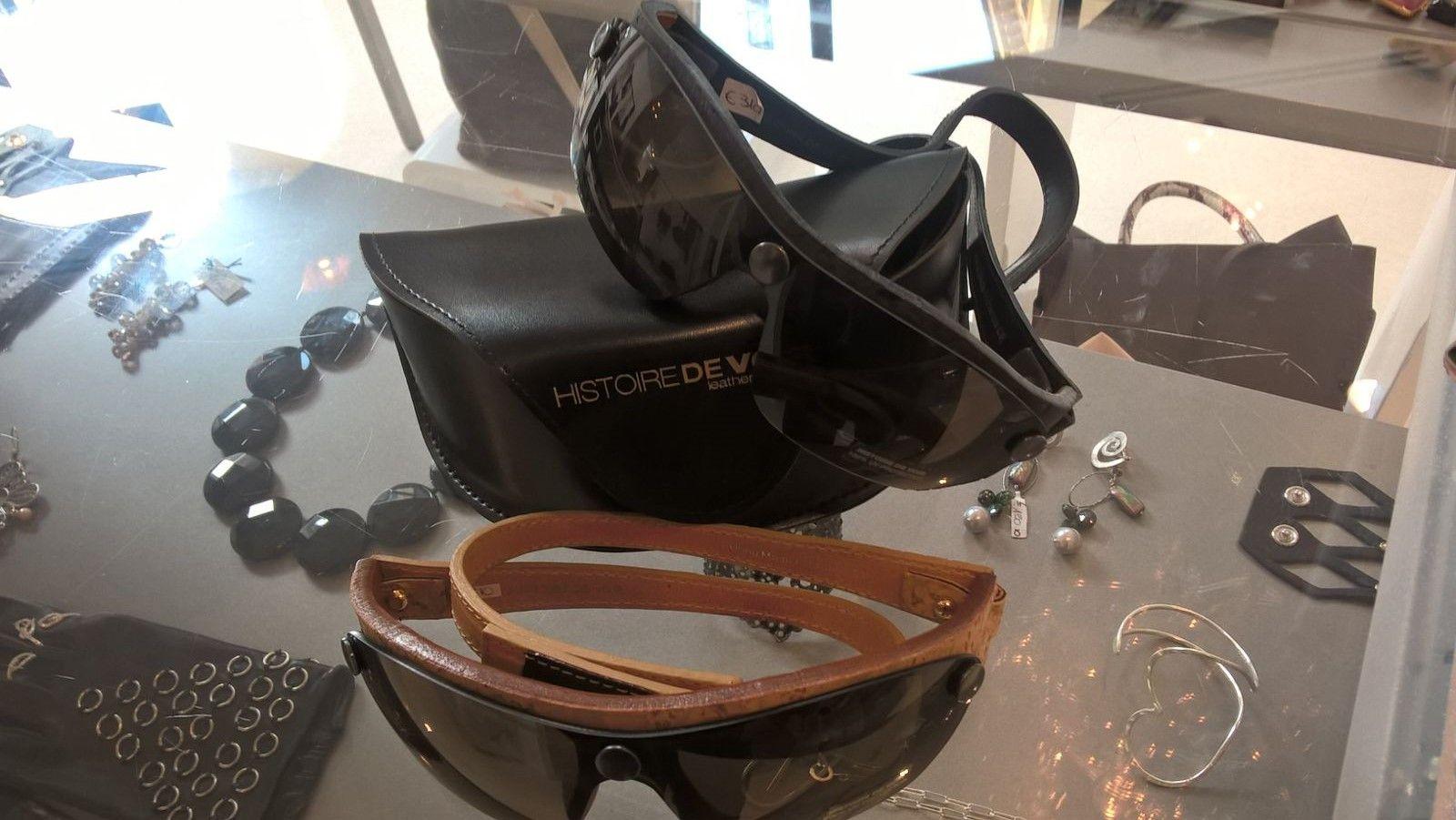 #sunglasses per #fashion #bikers, con lenti intercambiabili.  #LeABoutique #Milano #ruderiders
