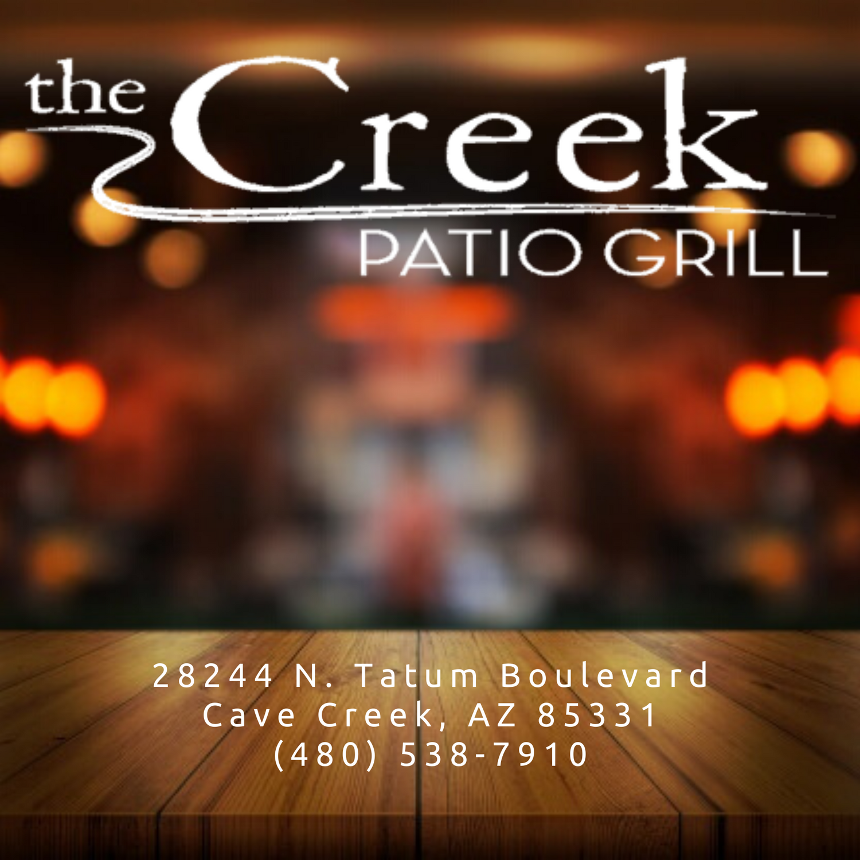 Creek Patio Grill On Menu Items