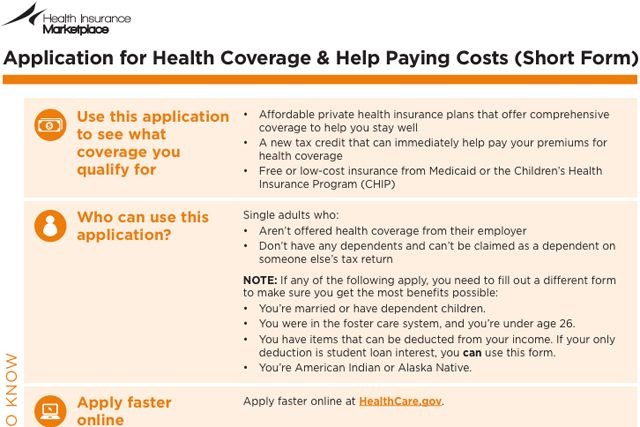 This Is How You Get Obamacare Political Pinterest Health - application form in pdf