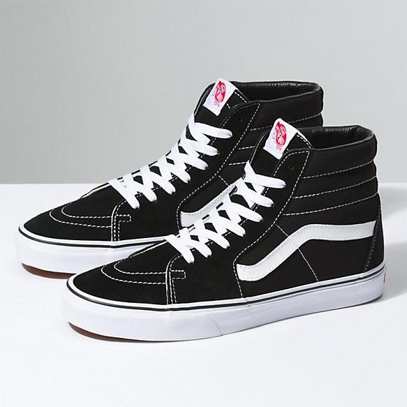 Sk8 Hi | Shop Shoes | High top vans, Pink vans, Black high