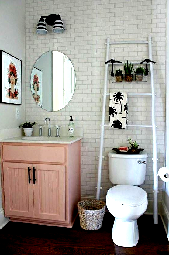 Cute Bathroom Ideas Small Bathroom Decorating Ideas In 2020 Apartment Decorating Rental Small Bathroom Decor Bathroom Decor Apartment