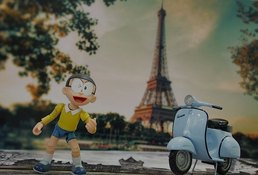 Nobita in paris my world pinterest nobita in paris voltagebd Choice Image