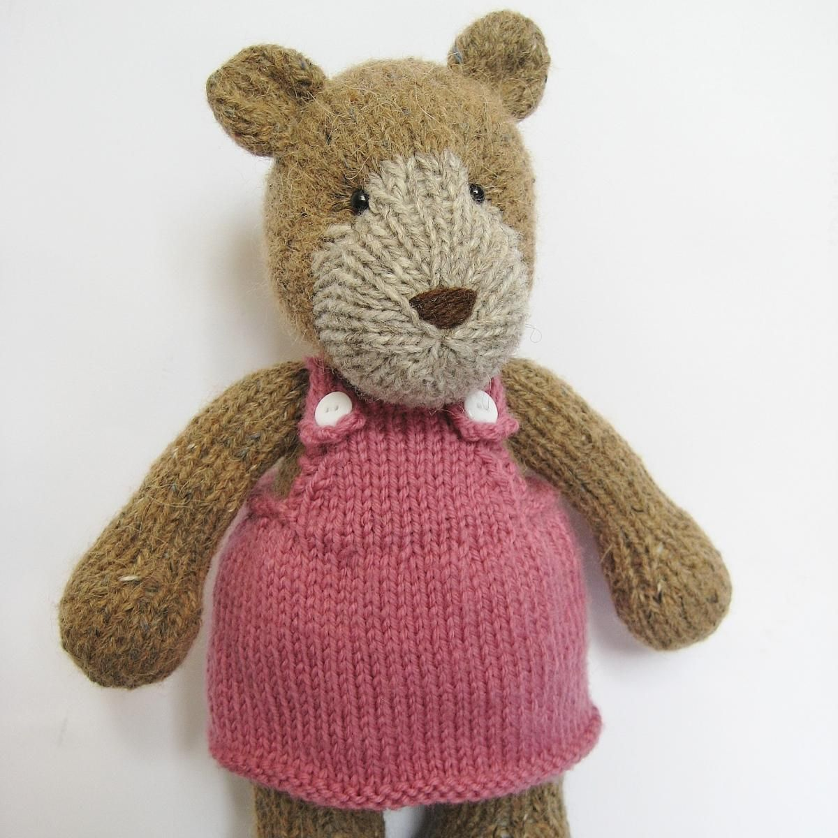 Teddy Bear toy knitting pattern | If I could knit would make this ...
