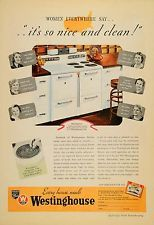 1937 Ad Westinghouse Electric Emperor Range Stove Oven - ORIGINAL ADVERTISING