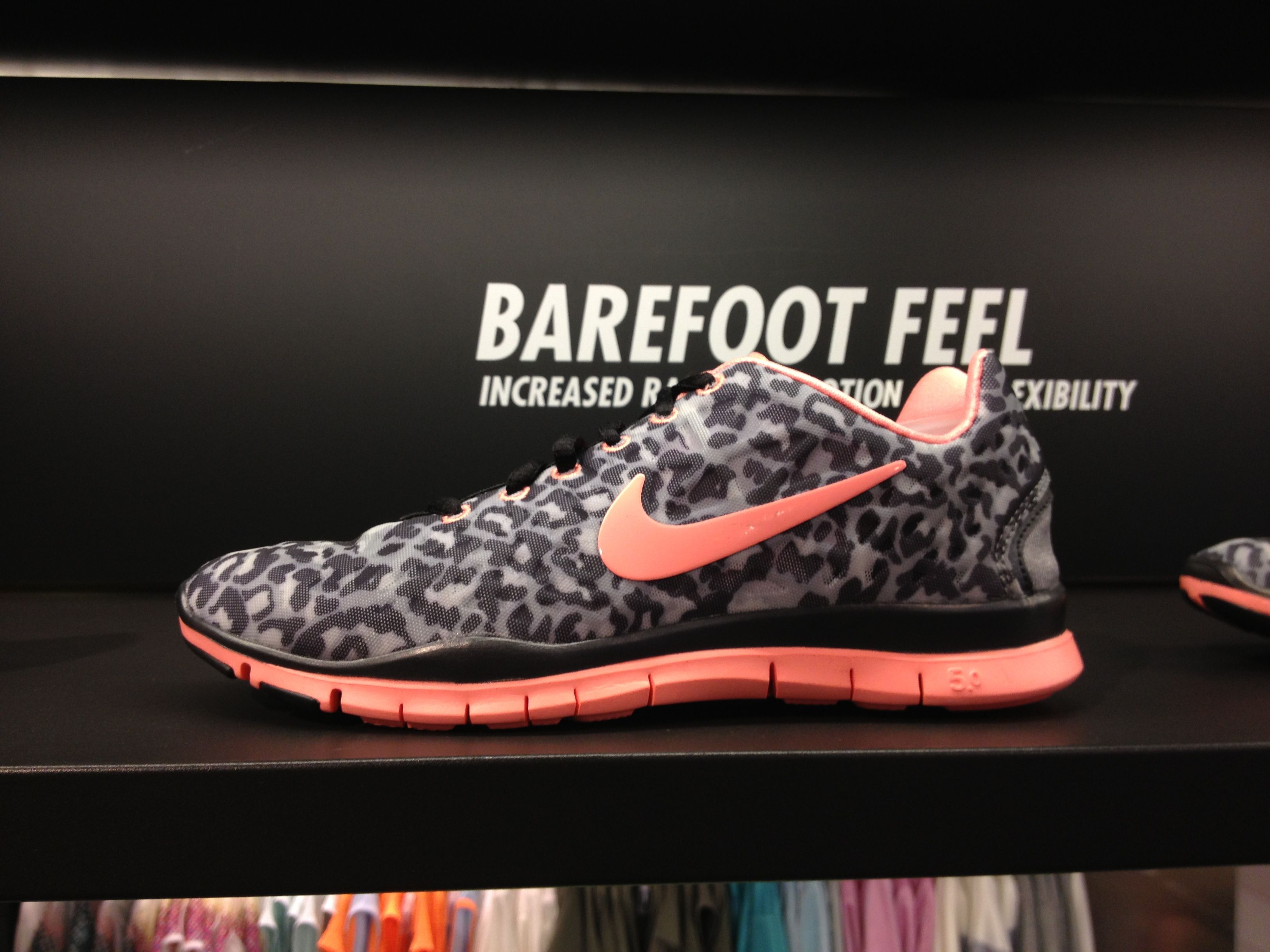 quite nice a2e90 76890 It s love at first sight Nike Free Leopard print